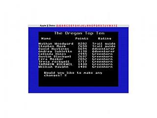 Click image for larger version.  Name:Oregon trail high score.jpg Views:844 Size:12.9 KB ID:6991