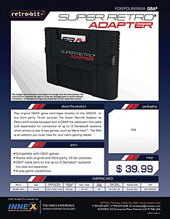 Click image for larger version.  Name:Super Retro Adapter.jpg Views:93 Size:88.3 KB ID:6610